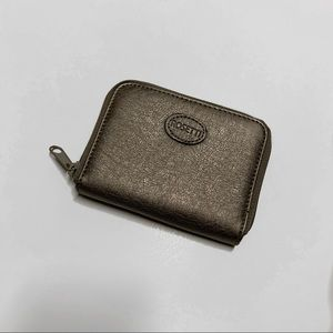 Rossetti —  Gold/Gray Small Wallet NWOT